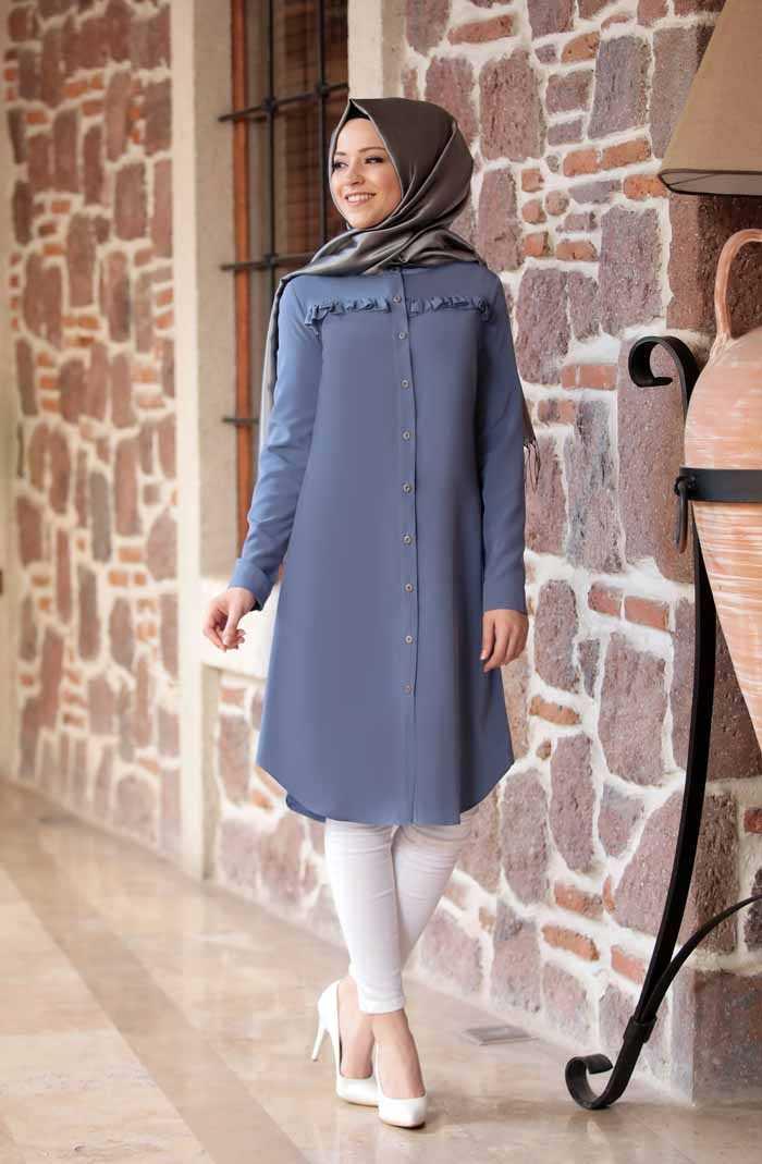 Al Marah Tesettür Akasya Tunik Modelleri