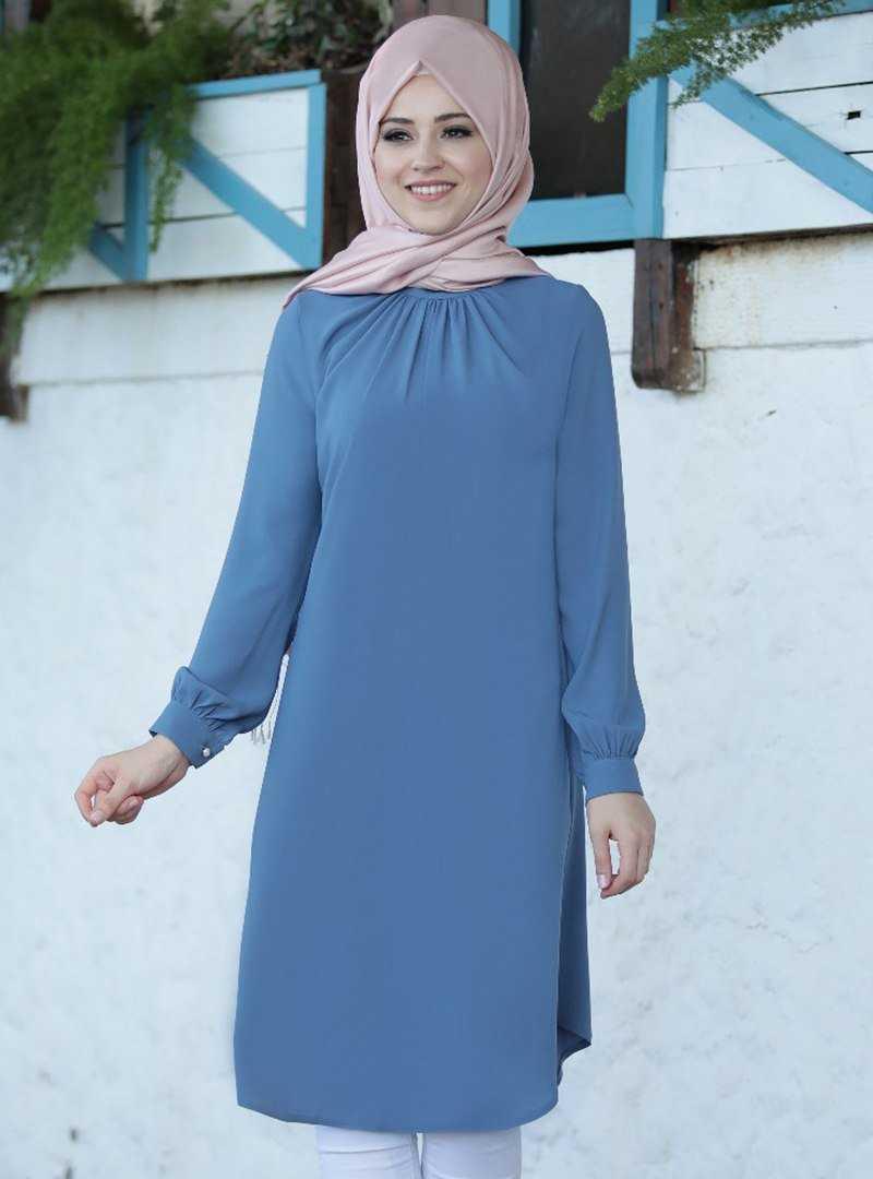 Al Marah Tesettür Büzgülü Tunik Modelleri