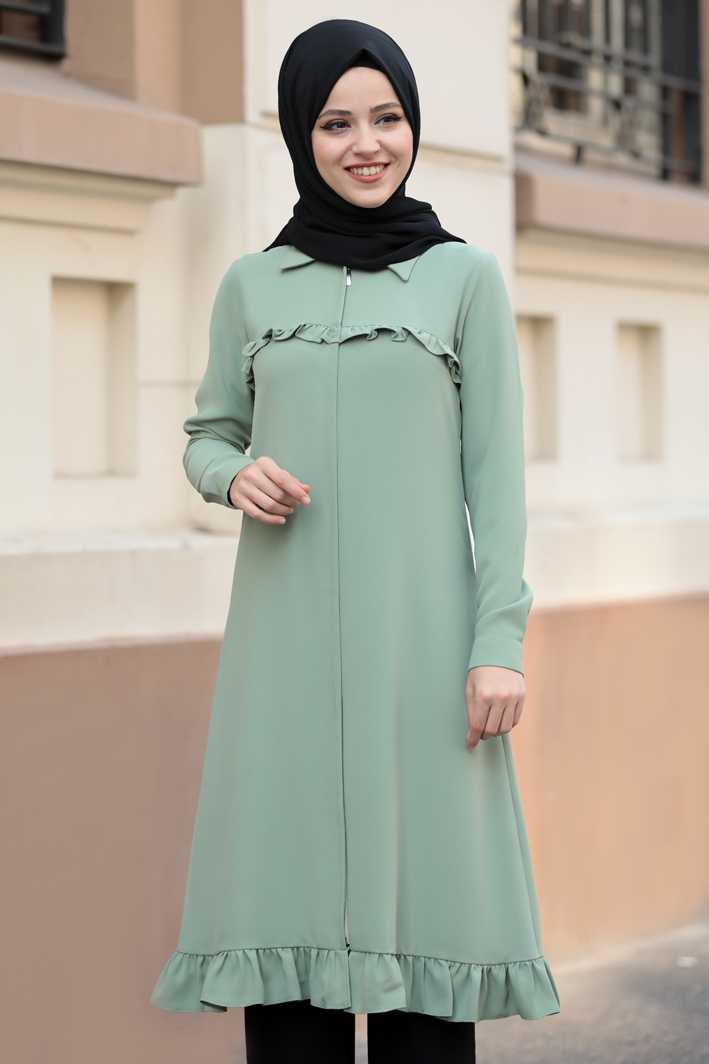 Al Marah Tesettür Fırfırlı Tunik Modelleri