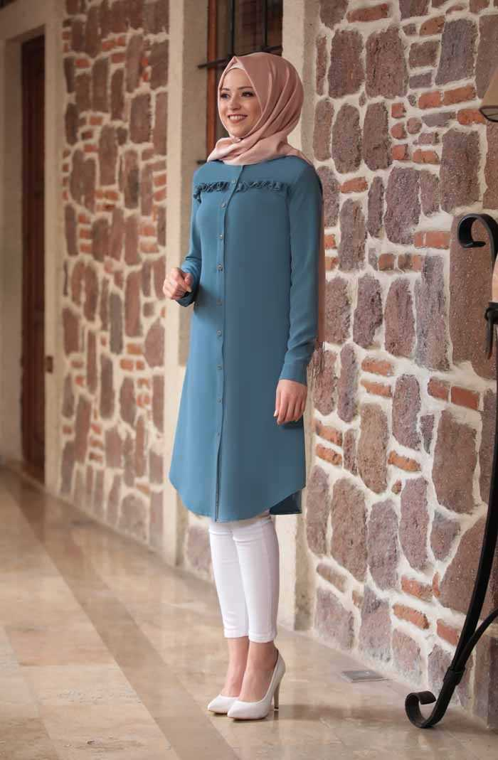 En Güzel Al Marah Tesettür Tunik Modelleri
