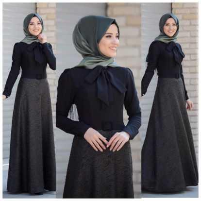 En Özel Al Marah Tesettür Elbise Modelleri