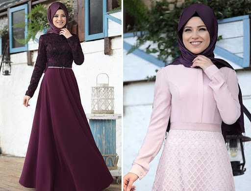 En Güzel Al Marah Tesettür Elbise Modelleri