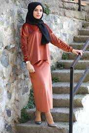 Moda Onur Tesettür Kadife Takım Modelleri