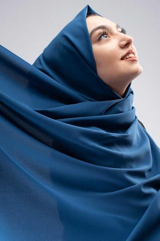 Moda Pinhan Medine İpeği Düz Şık Baskılı Şal Modelleri