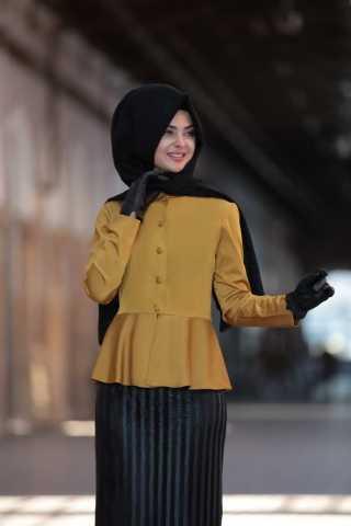 Şık Pınar Şems Tesettür Gömlek Modelleri