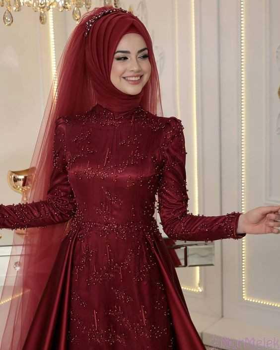 2019 Tesettür Kına Gecesi Elbisesi Modelleri