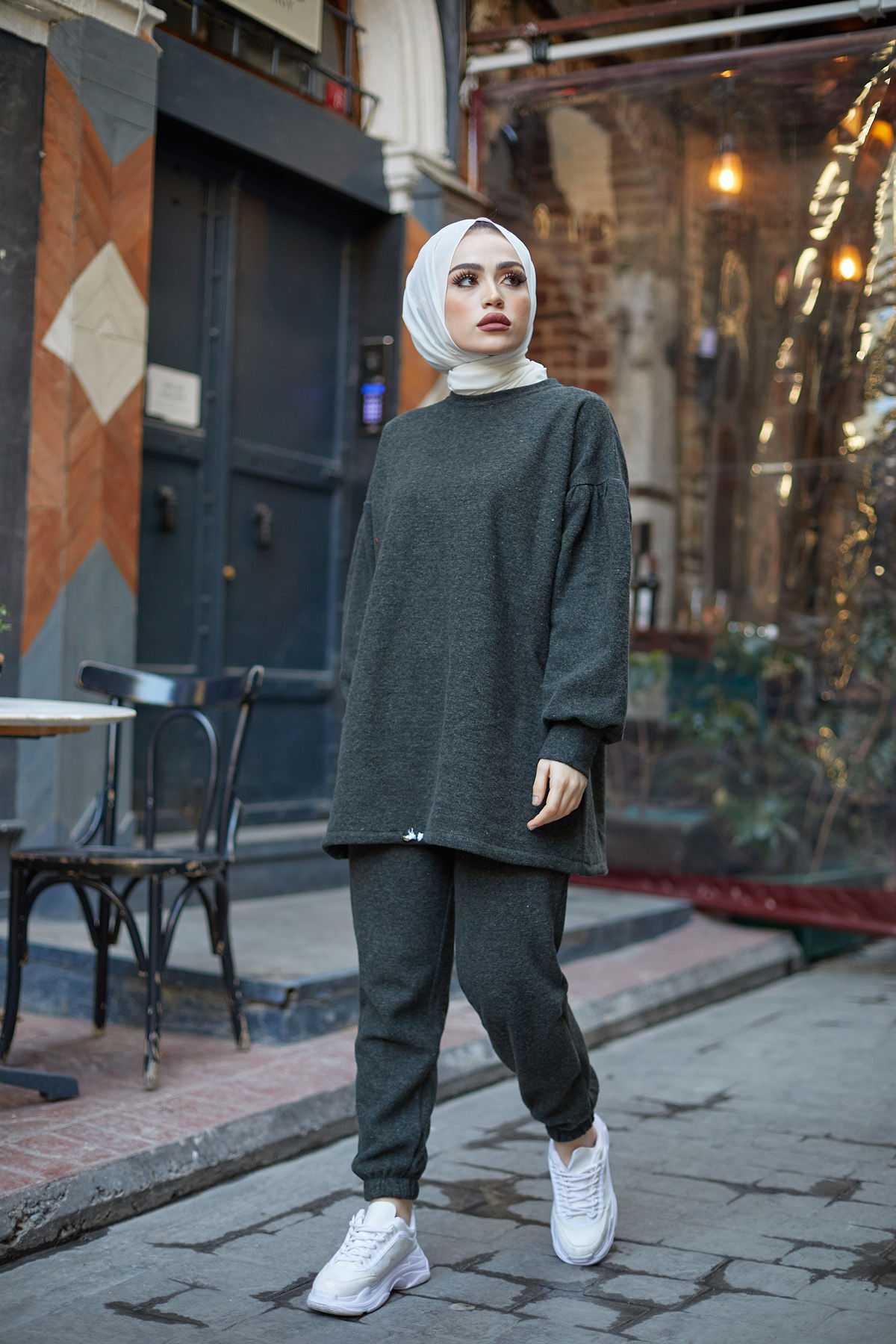 Eliza Moda Günlük Tesettür Pantolon Modelleri