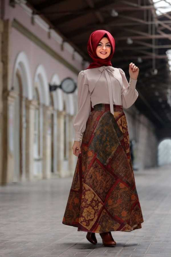 En Şık Pınar Şems Tesettür Gömlek Kombinleri