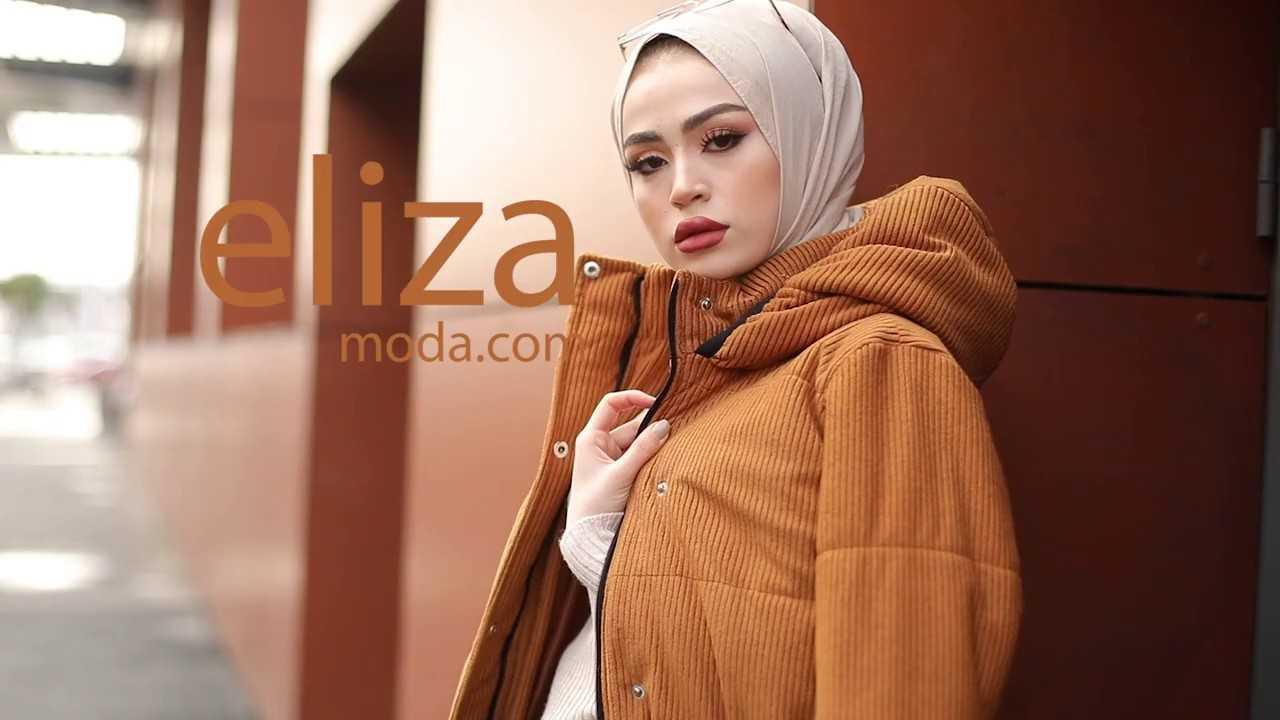 En Güzel Eliza Moda Tesettür Giyim Modelleri