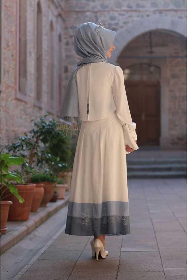 En Güzel Pınar Şems Tesettür Gömlek Kombinleri