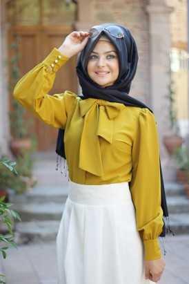 En Güzel Pınar Şems Tesettür Gömlek Modelleri