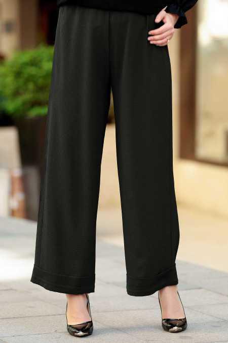 Neva Style Günlük Tesettür Kumaş Pantolon Modelleri