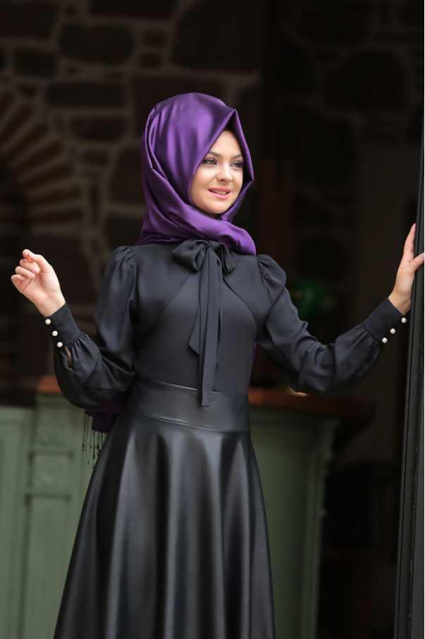 Pınar Şems Tesettür Fularlı Gömlek Modelleri