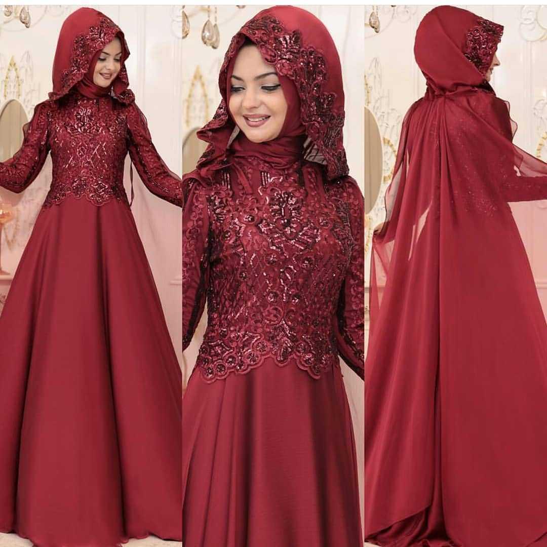 Pınar Şems Tesettür Kına Elbisesi Modelleri