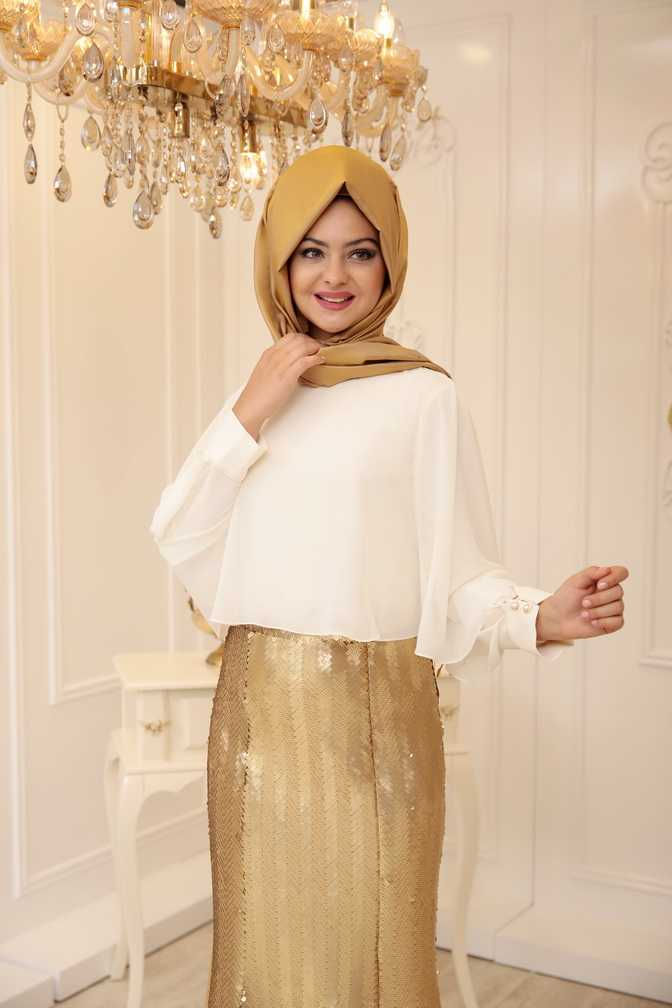 Pınar Şems Tesettür Zara Gömlek Modelleri