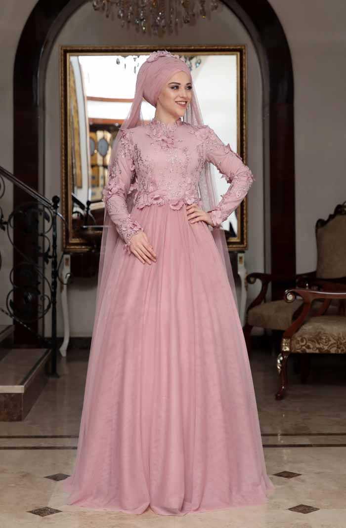 Al Marah Tesettür Behrem Abiye Elbise Modelleri