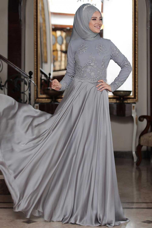 Al Marah Tesettür Tılsım Abiye Elbise Modelleri