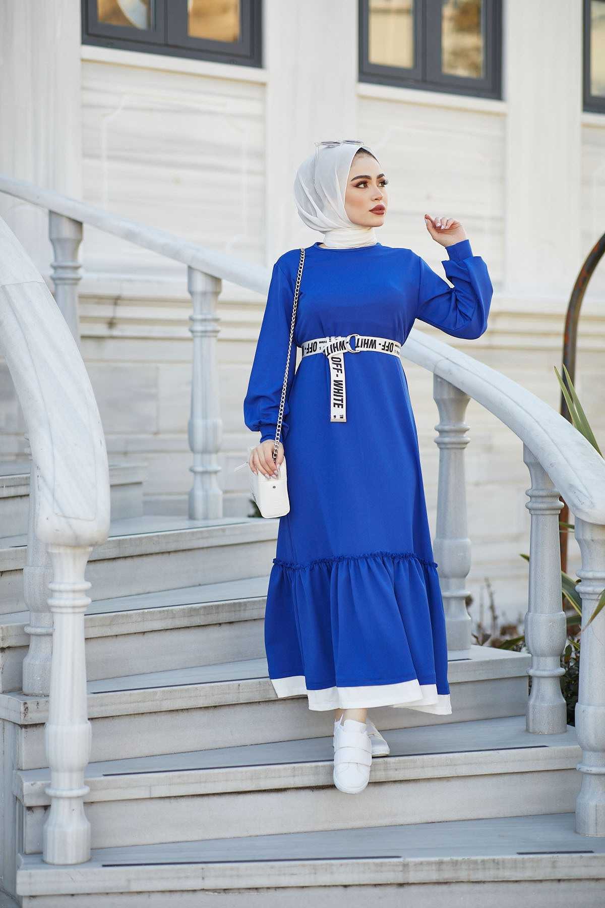 Eliza Moda Tesettür Genç Elbise Modelleri