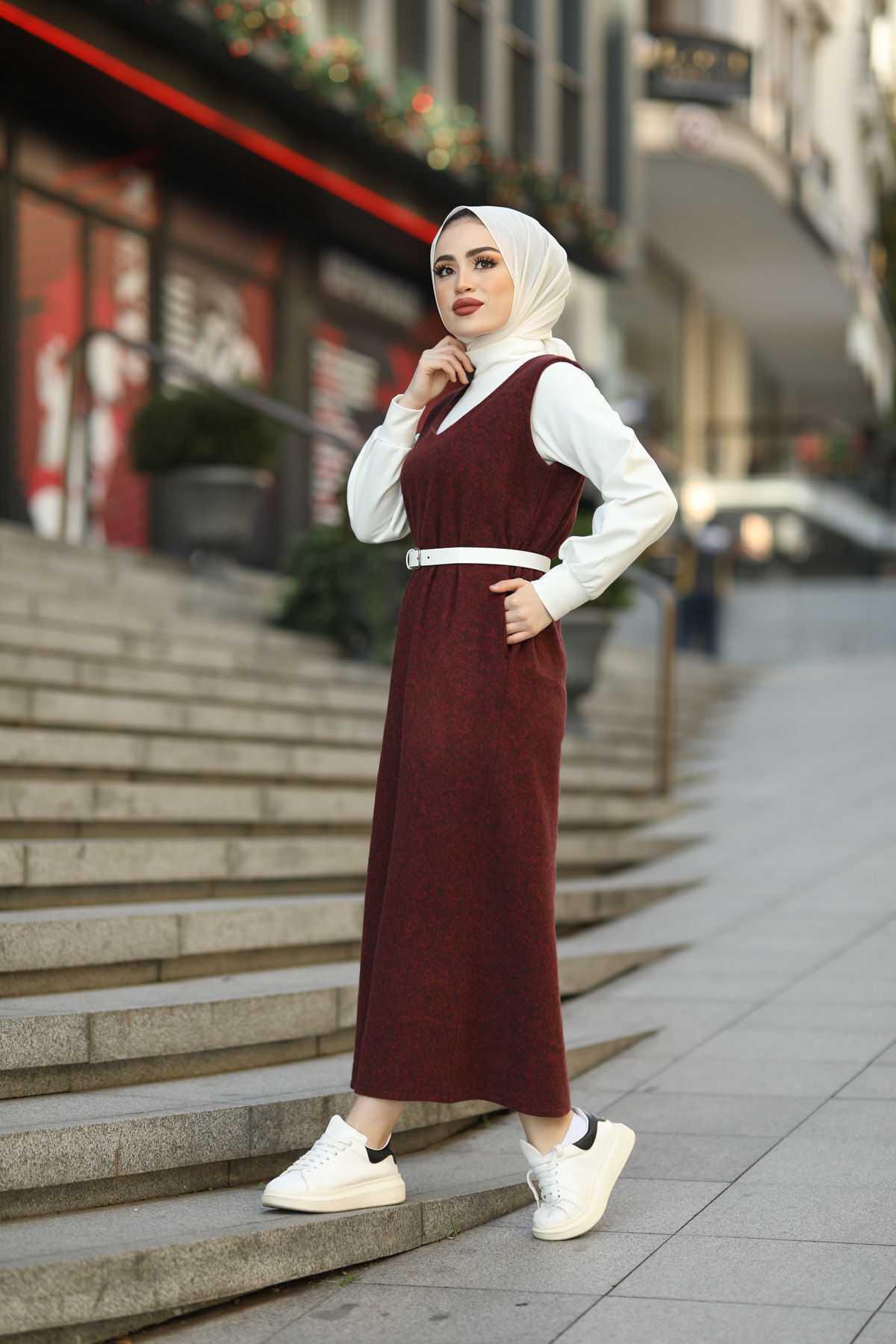 Eliza Moda Tesettür Jile Elbise Modelleri