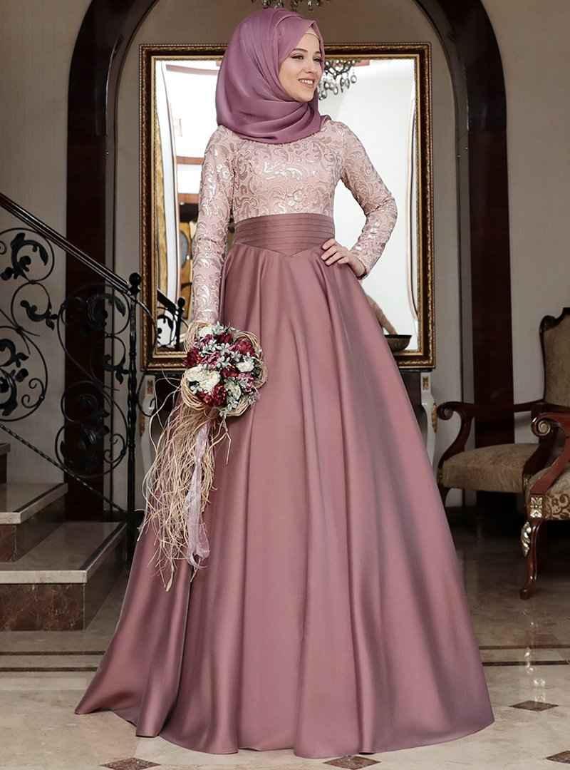 En Güzel Al Marah Tesettür Abiye Elbise Modelleri