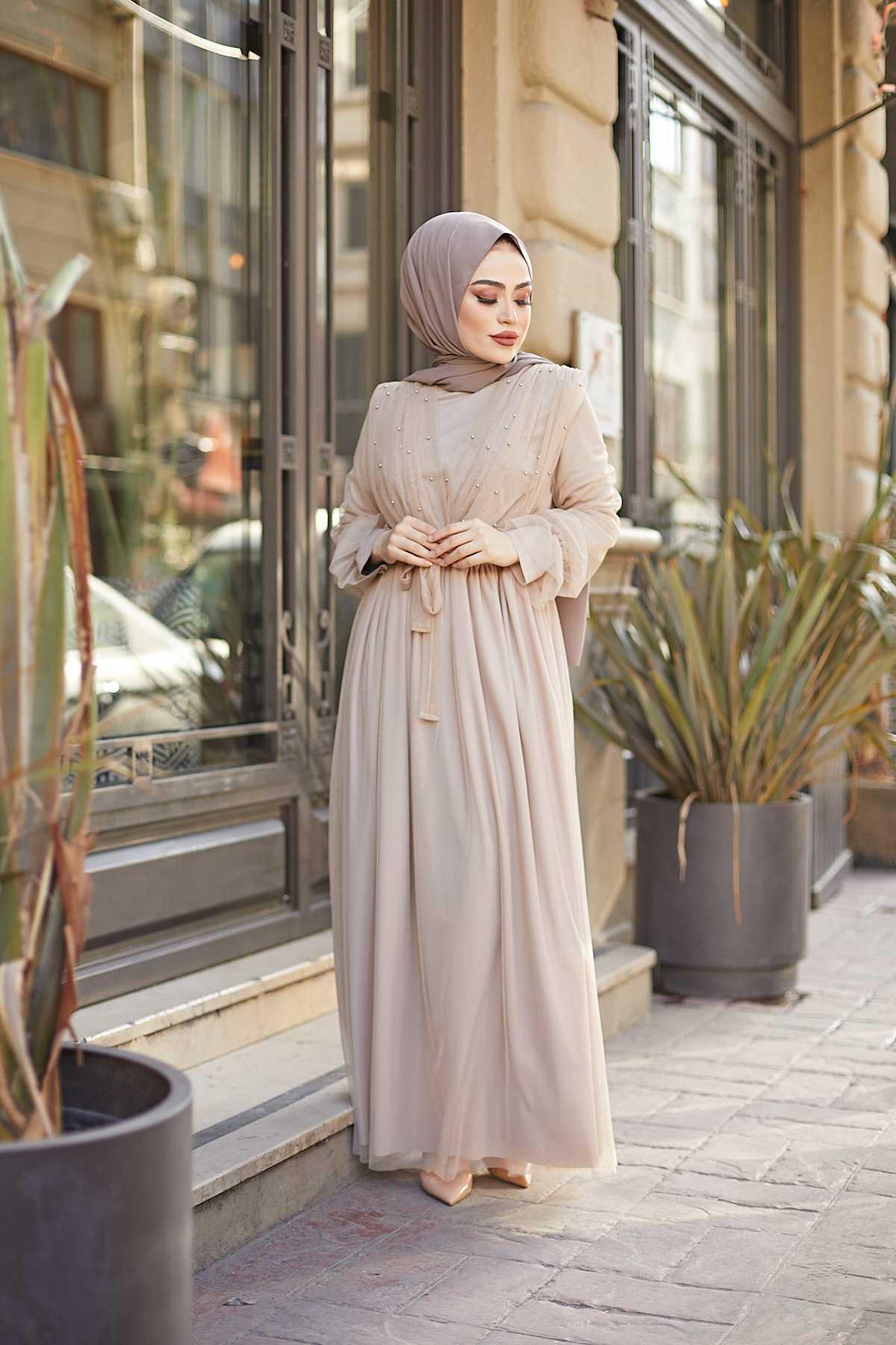 En Güzel Eliza Moda Tesettür Elbise Modelleri