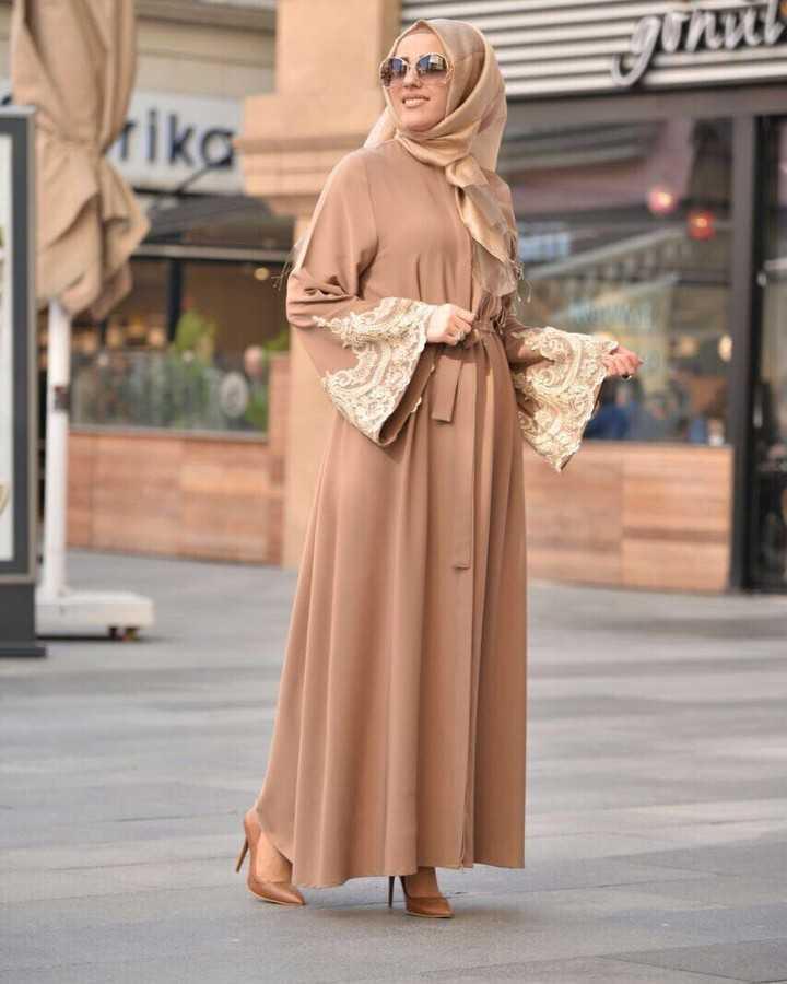 Noora Serisi Tesettür Abaya Ferace Modelleri