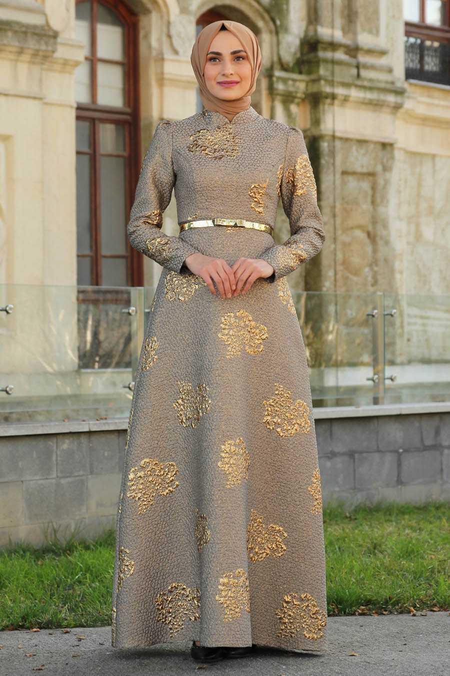 Feiza Collection Tesettür Broker Elbise Modelleri