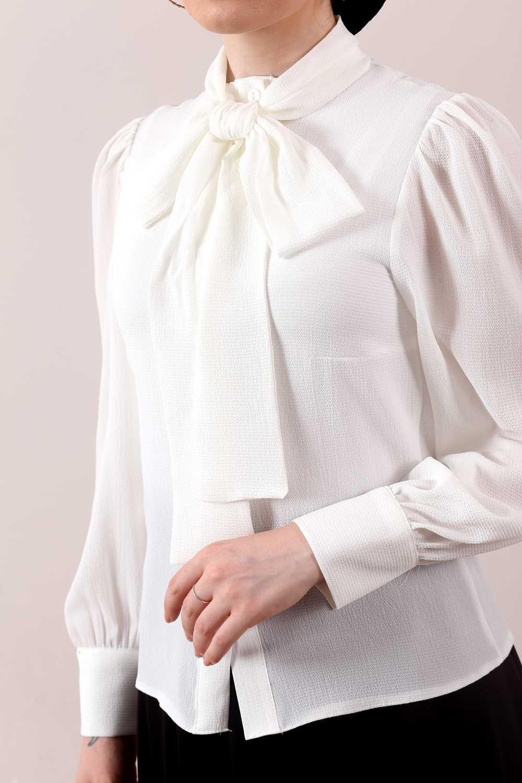 Moda Ala Tesettür Fularlı Gömlek Modelleri