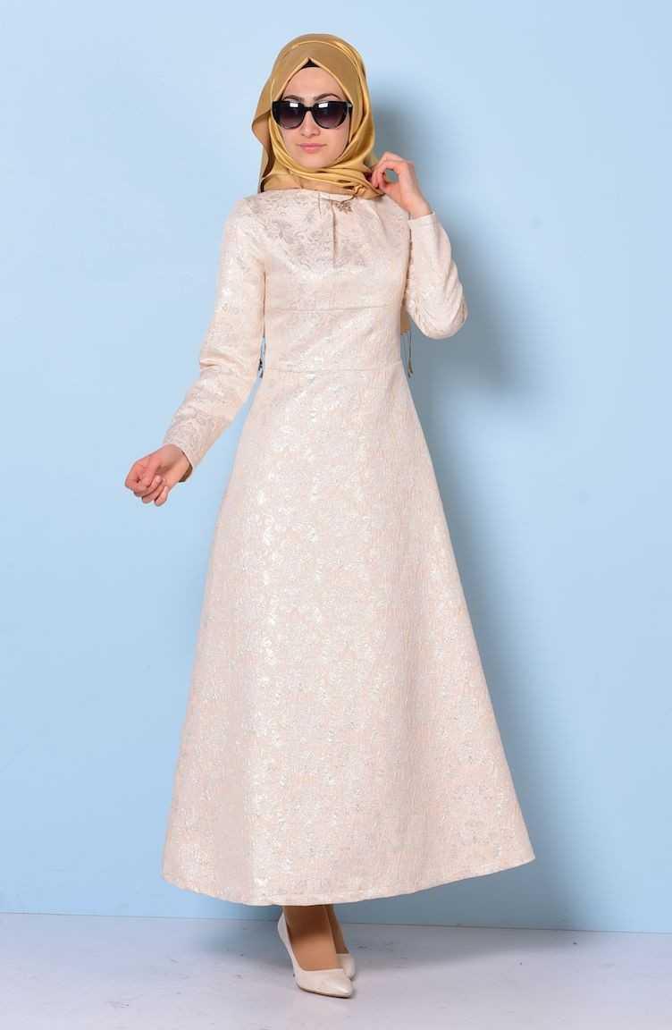 Sefamerve Tesettür Broker Elbise Modelleri