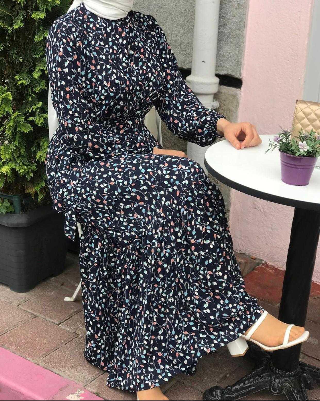 Ak Design Tesettür Yazlık Elbise Modelleri