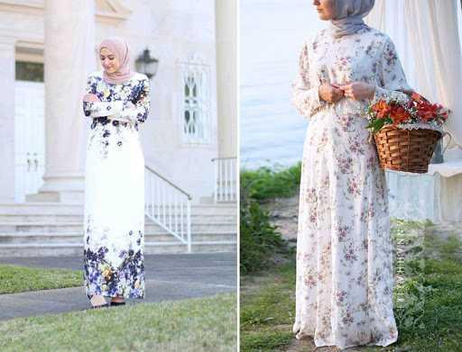 En Özel Tesettür Yazlık Elbise Modelleri