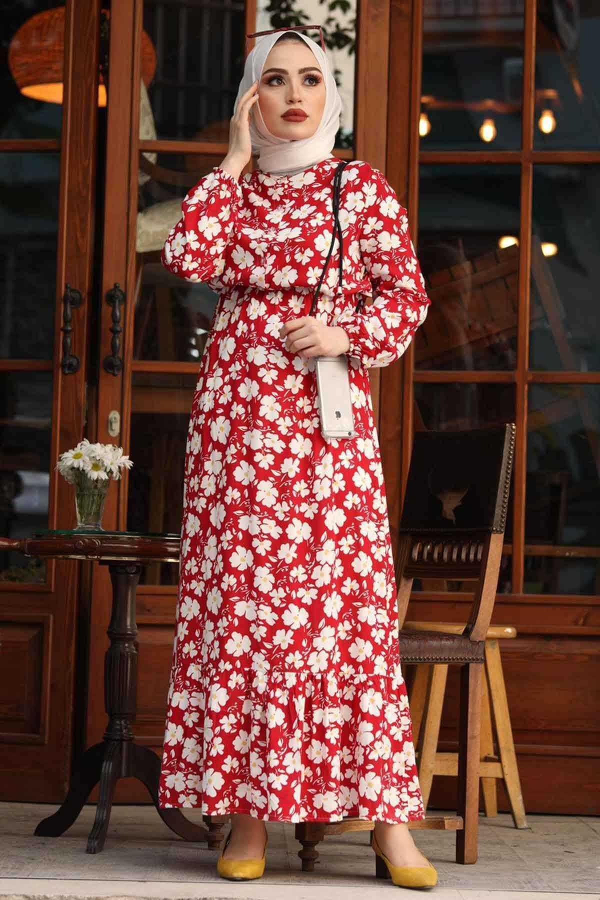 Ermi Tekstil Tesettür Yazlık Elbise Modelleri