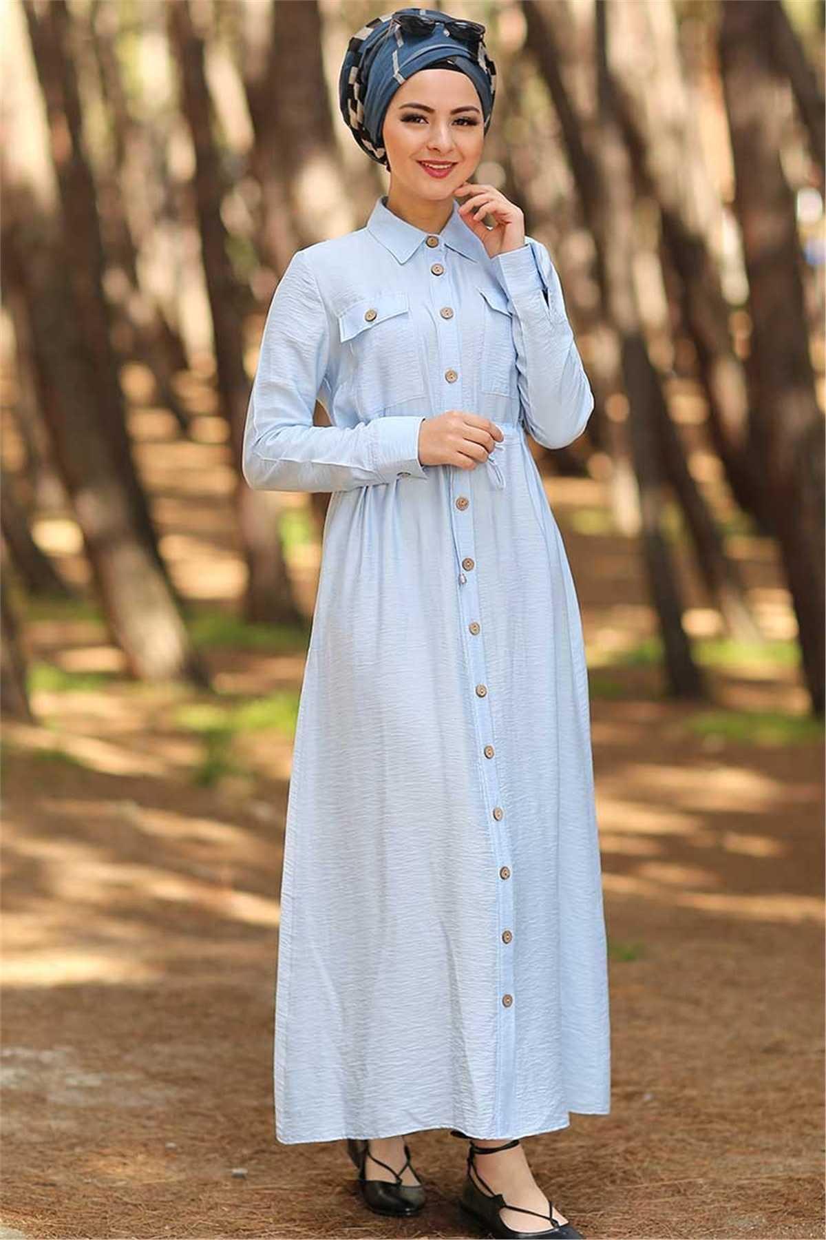 Ermi Tekstil Tesettür Yazlık Şık Elbise Modelleri