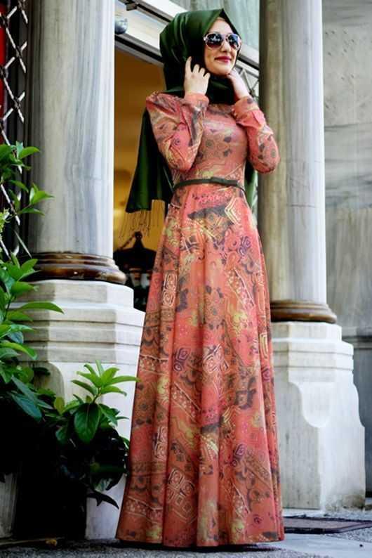 Gamze Polat Tesettür Yazlık Elbise Modelleri