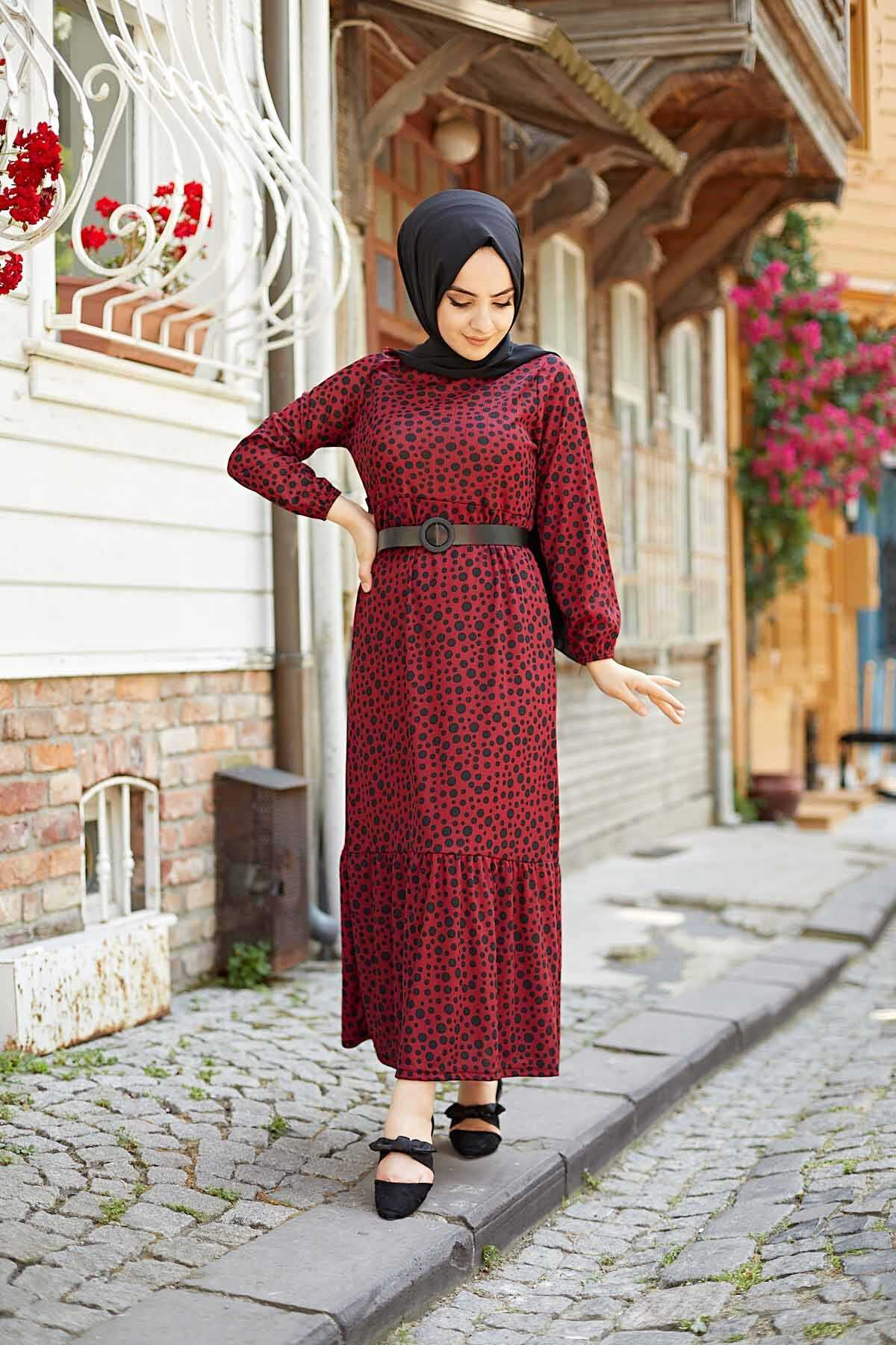Hf Moda Tesettür Yazlık Elbise Modelleri