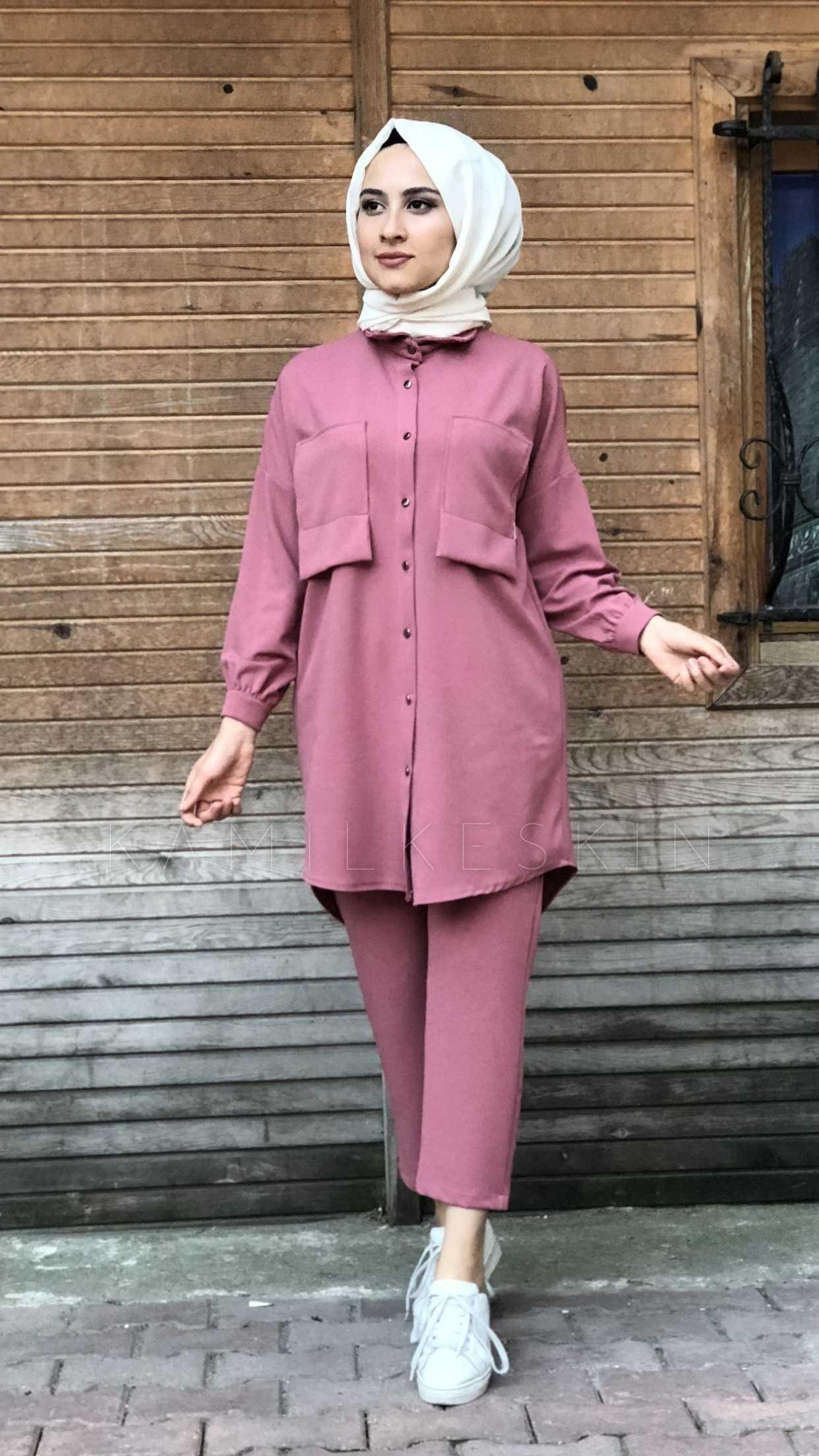 Kamil Keskin Tesettür Spor Tunik Takım Modelleri