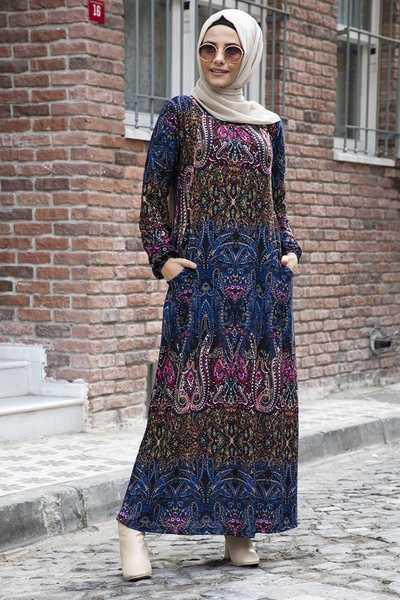 Modanoiva Tesettür Yazlık Elbise Modelleri