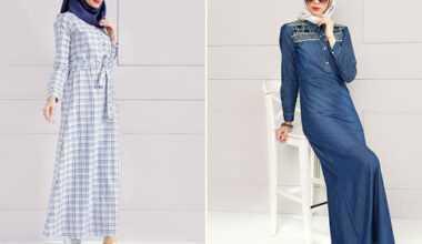 Tesettür Yazlık Elbise Modelleri