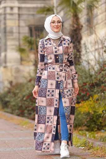 Tofisa Tesettür Viskon Elbise Modelleri