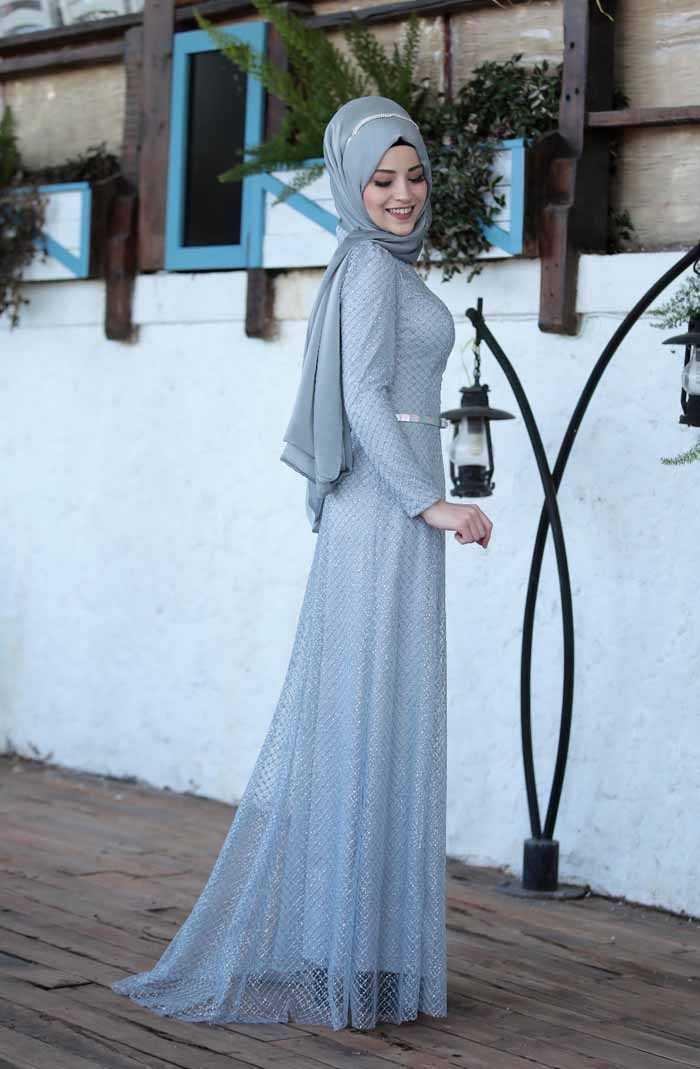Al Marah Tesettür İnci Abiye Modelleri