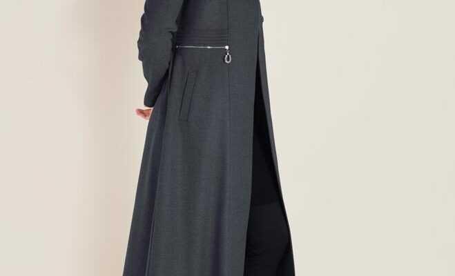 Tesettür Uzun Manto Modelleri
