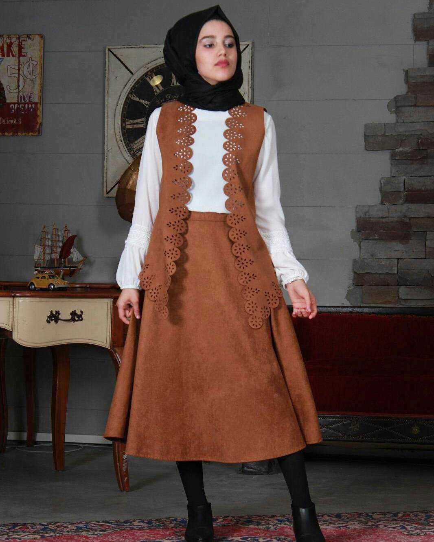 Boutique Anatolia Tesettür Süet Takım Modelleri