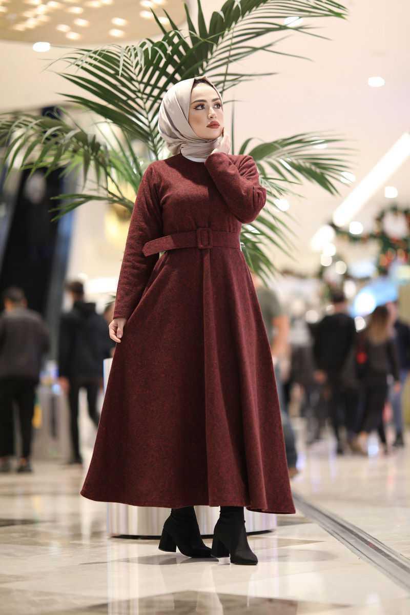Klosh Tesettür Selanik Örme Mevlana Elbise Modelleri