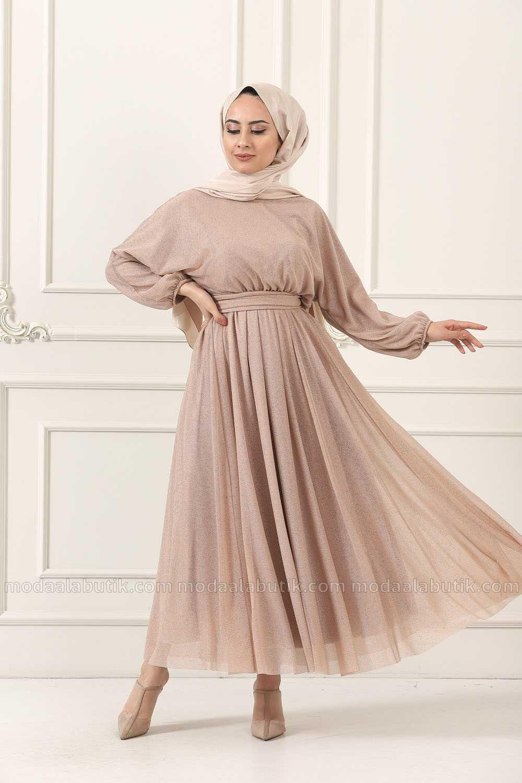 Moda Ala Butik Tesettür Mevlana Elbise Modelleri