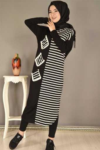 Modamerve Uzun Spor Tunik Modelleri