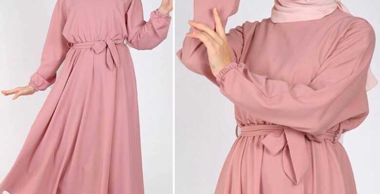 Tesettür Mevlana Elbise Modelleri