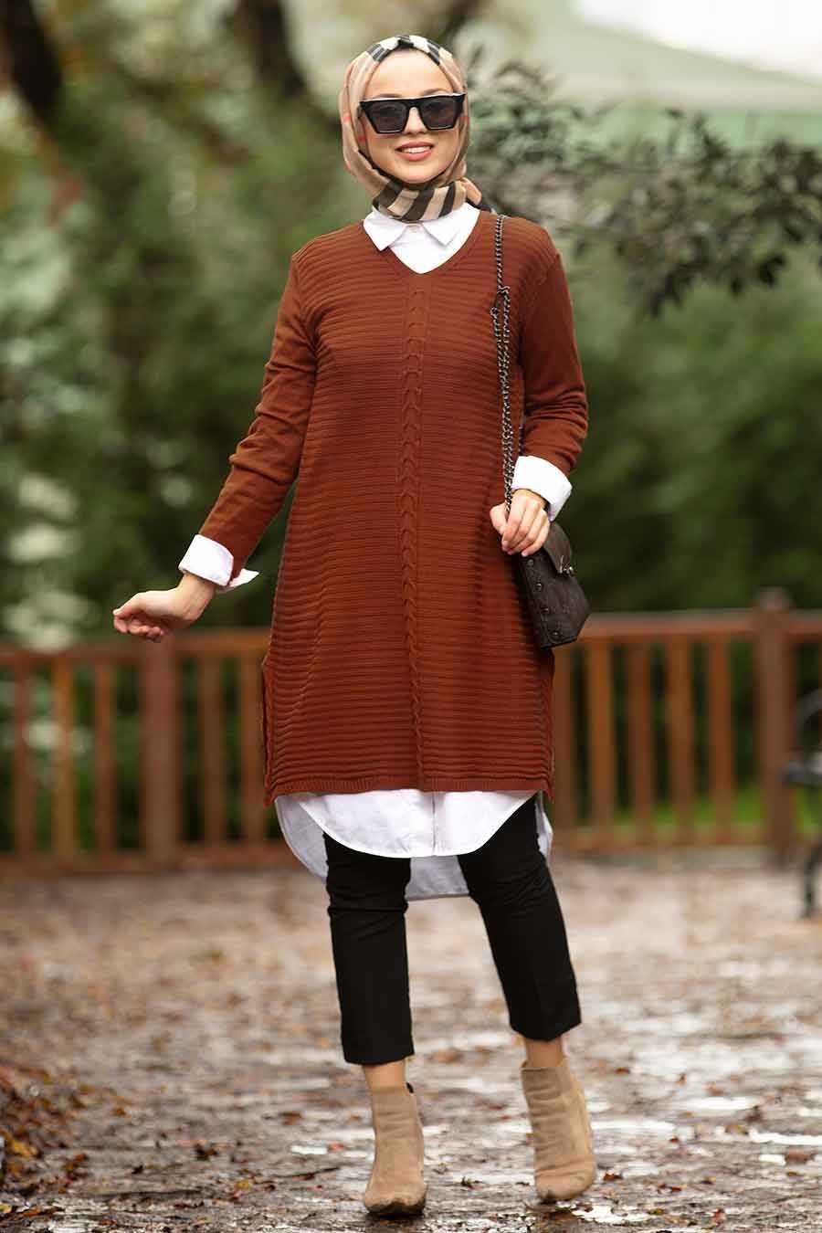Nayla Collection Sonbahar Kış Triko Tunik Modelleri