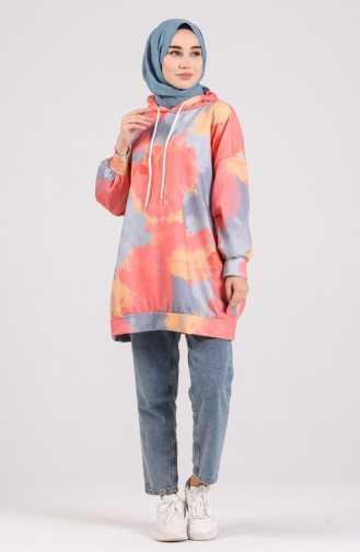 Sefamerve Tesettür Karışık Renkli Sweatshirt Modelleri