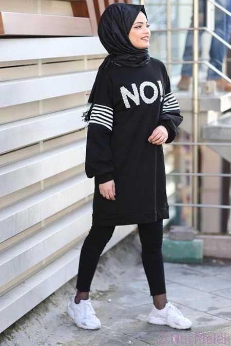 Tesettür Sweatshirt Modelleri