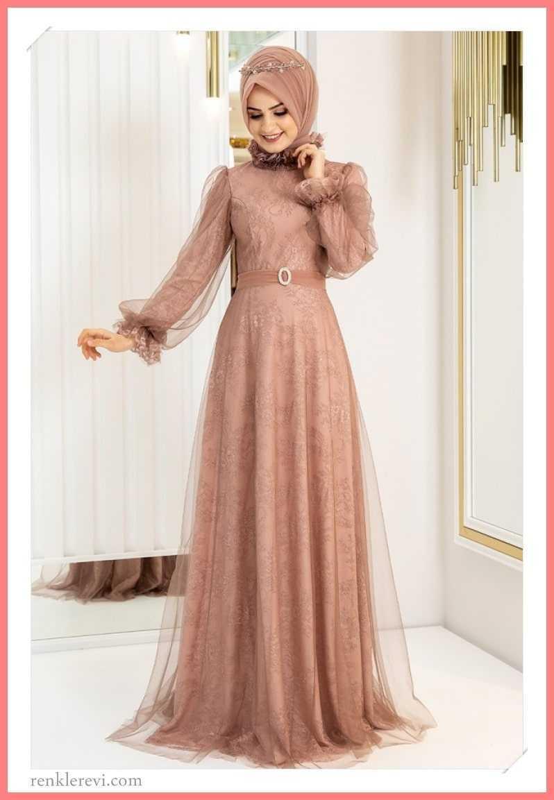 Yeni Sezon Tesettür Abiye Elbise Modası